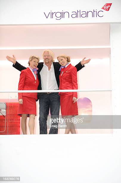 Virgin Atlantic Airways and Virgin Group founder Sir Richard Branson bring Business Speed Dating to Wall Street on October 2 2012 in New York City