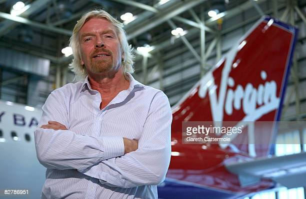 Virgin Atlantic President Sir Richard Branson speaks out against the proposed monopoly between British Airways American Airlines and Iberia at...