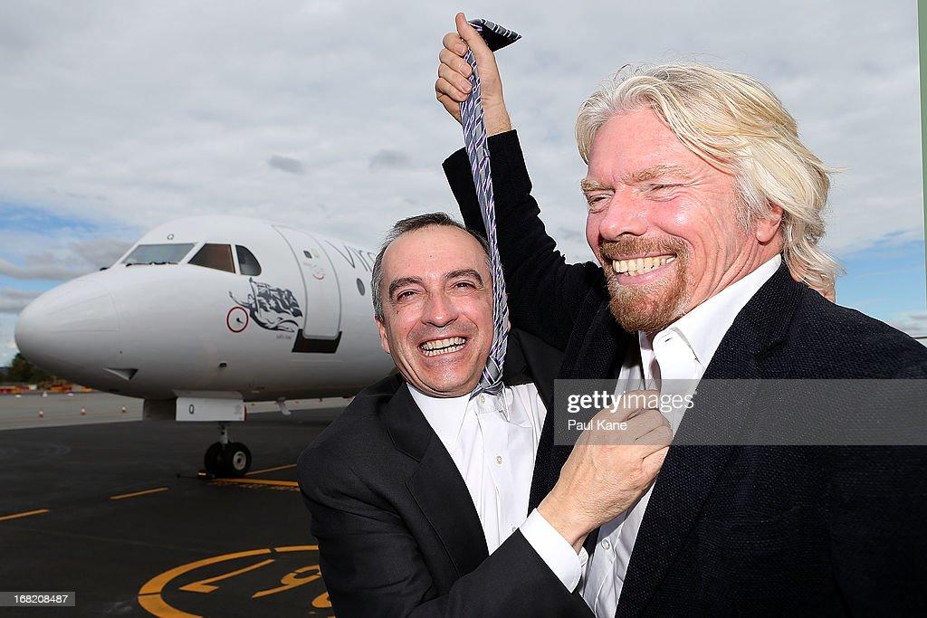 Virgin Australia Unveil Regional Airline In Perth : News Photo