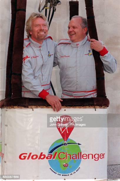 Virgin boss Richard Branson paired up with his archrival Steve Fossett today as he announced his decision to make another attempt to become the first...