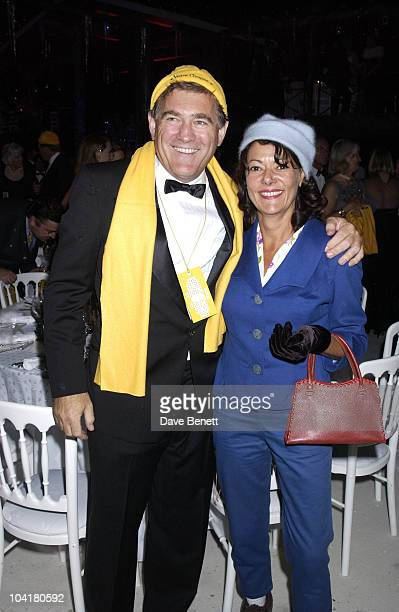 Virgin Co Founder Simon Draper And His Wife, The Goodwood Revival 2002 At Lord March Glorious Race Track In West Sussex ,saw Some Fun And Games When...