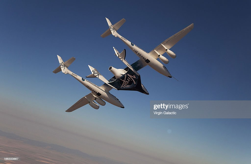 Virgin Galactic Test Flights : News Photo