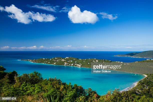 u.s. virgin islands, st. thomas, exterior - magens bay stock photos and pictures
