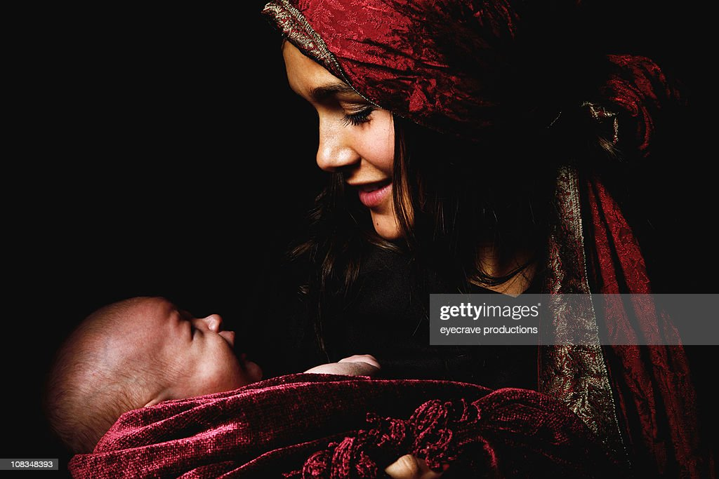 Virgin Mary Baby Jesus Christ Born Christmas Stock Photo | Getty Images