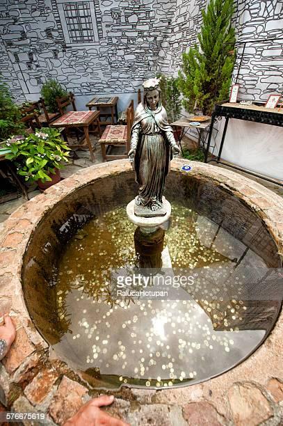 Virgin Mary fountain in Sirince