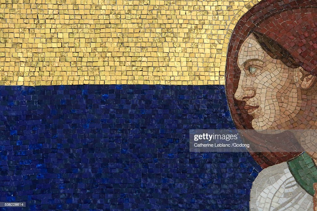 Virgin Mary Mosaic By Rudolf Jettmar Steinhof Church Built By Otto ...