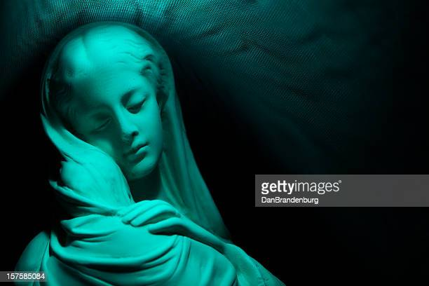 virgin mary - virgin mary stock photos and pictures
