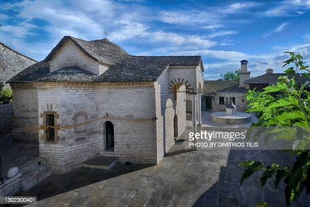 virgin mary tsoukas monastery 5 - dimitrios tilis stock pictures, royalty-free photos & images