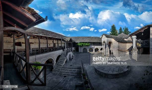 Virgin Mary Tsoukas Monastery panorama 3