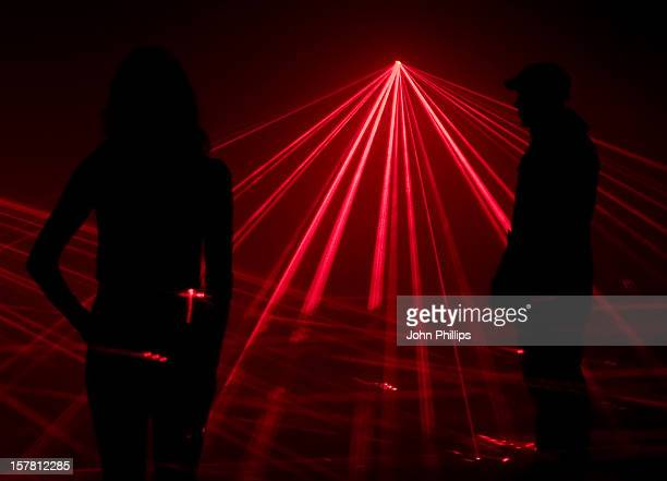 Virgin Media Unveil The Speed Of Light A Laser Artwork By United Visual Artists Who Have Been Commissioned By Virgin Media To Celebrate The 10Th...