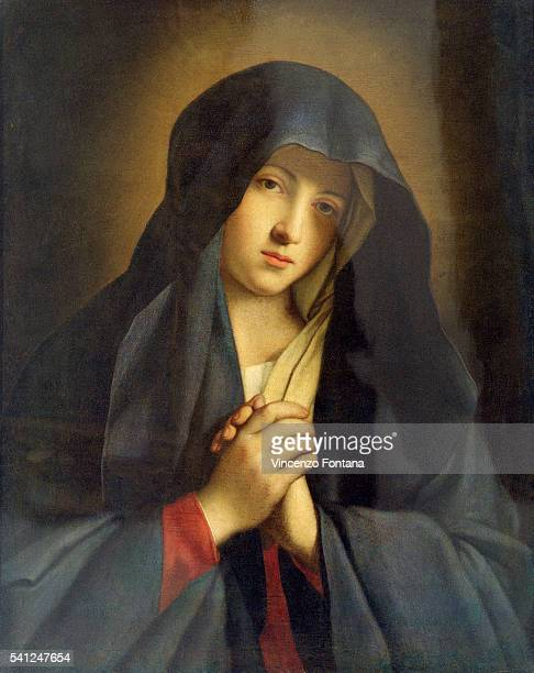 Virgin of Sorrows by Sassoferrato