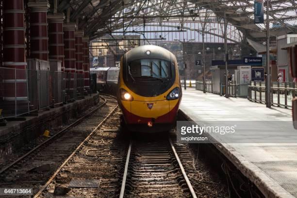Virgin Pendolino at Liverpool Lime Street Station