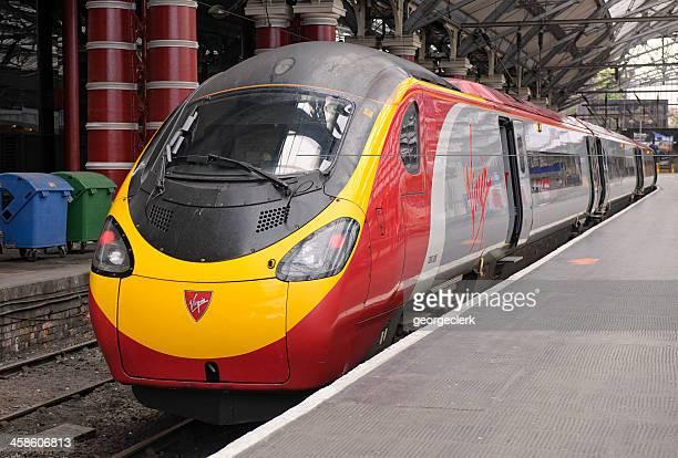 Virgin Pendolino Train at the Platform