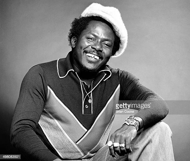 Virgin Records' Front Line label reggae artist IRoy photographed in London in 1976