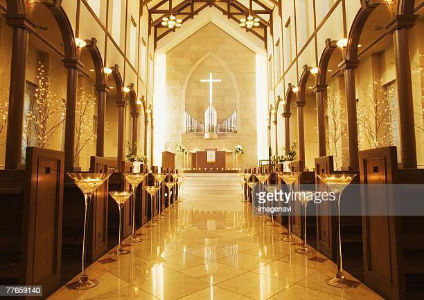 virgin road - chapel stock pictures, royalty-free photos & images