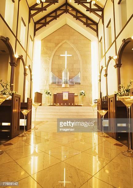virgin road - 礼拝堂 ストックフォトと画像