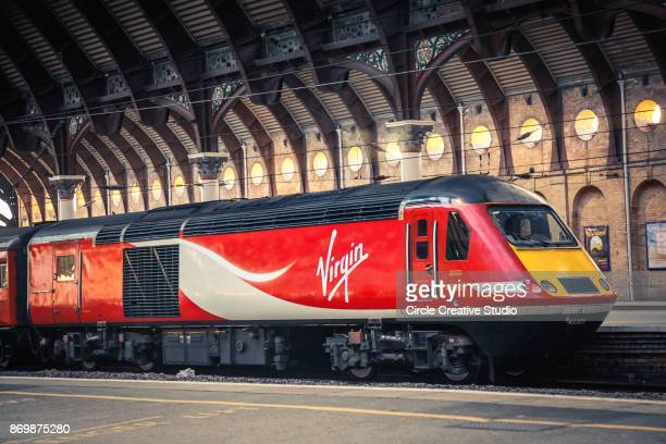 virgin train - train stock photos and pictures