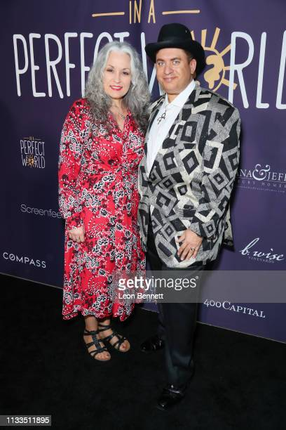 Virginia Baker and Omarr Baker attend Manuela Testolini And Eric Bent Present An Evening Of Music Art And Philanthropy Benefiting In A Perfect World...