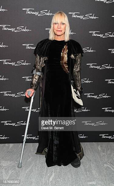 Virginia Bates attends a champagne reception celebrating the launch of the Thomas Sabo SS13 Jewellery Collection with brand ambassadors Poppy...