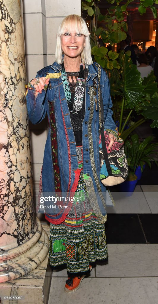Virginia Bates attends a private view of 'Frida Kahlo: Making Her Self Up' at The V&A on June 13, 2018 in London, England.