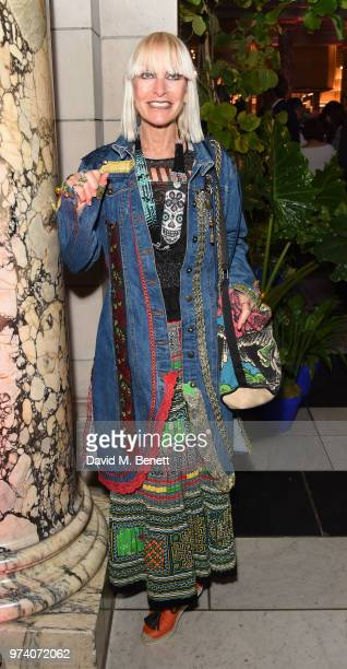 Virginia Bates attends a private view of 'Frida Kahlo Making Her Self Up' at The VA on June 13 2018 in London England