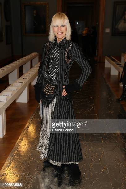 Virginia Bates attends the Erdem show during London Fashion Week February 2020 on February 17 2020 in London England