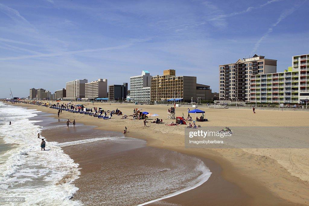 Virginia Beach Ocean Front : Stock Photo