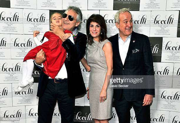 Virginia Bocelli her father singer Andrea Bocelli Keep Memory Alive CoFounder Camille Ruvo and her husband Keep Memory Alive Founder Larry Ruvo...