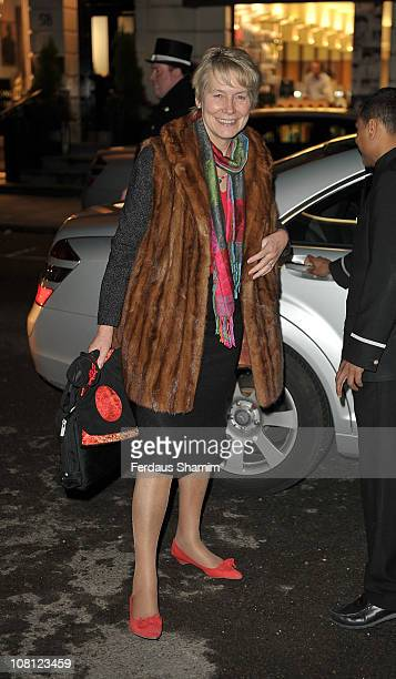 Virginia Bottomley attends the Radio Times Covers Party at Claridge's Hotel on January 18 2011 in London England