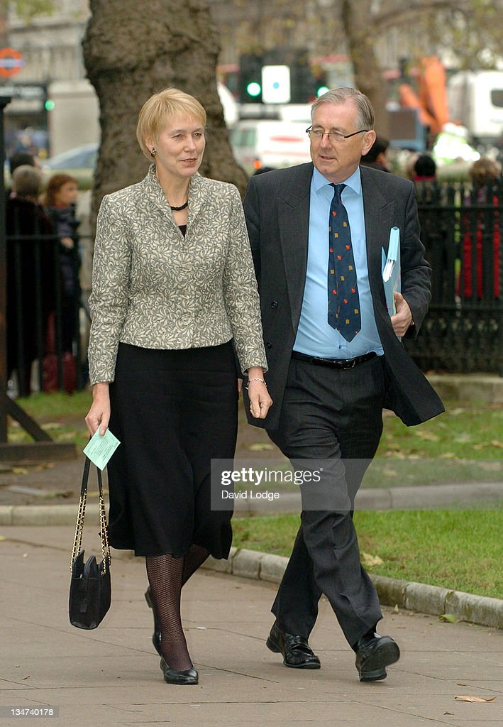 Virginia Bottomley during Robin Cook Memorial Service at St Margarets Church Westminster in London, Great Britain.