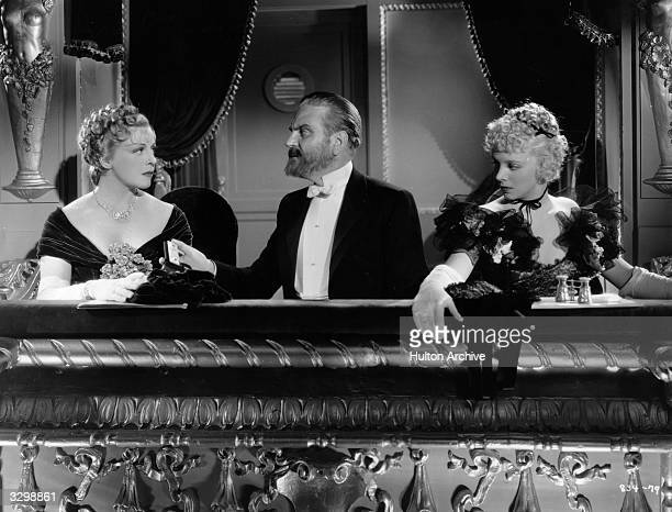 Virginia Bruce Mady Christians and Reginald Owen star in the film Escapade' directed by Robert Z Leonard for MGM
