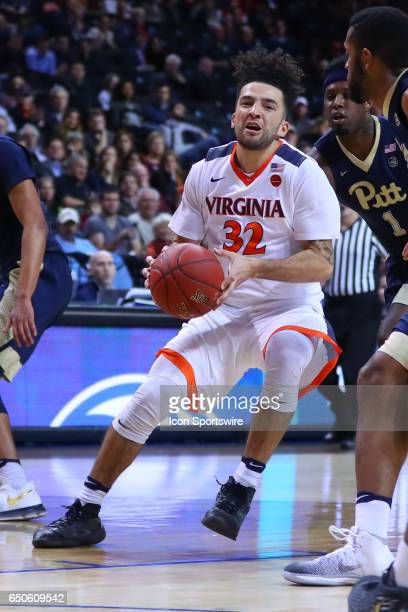 Virginia Cavaliers guard London Perrantes during the second half of the 2017 New York Life ACC Tournament second round game between the Virginia...