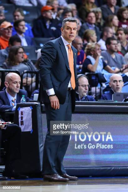 Virginia Cavaliers head coach Tony Bennett during the second half of the 2017 New York Life ACC Tournament second round game between the Virginia...