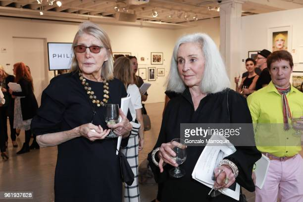 Virginia Chipurnoi and Jade Hobson during the Humane Society Of New York In Partnership With Aperture Foundation Fine Art Photography Benefit Auction...