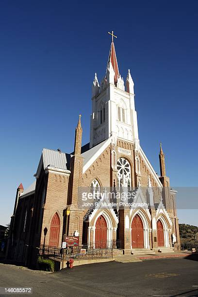virginia city first presbyterian church - presbyterianism stock photos and pictures