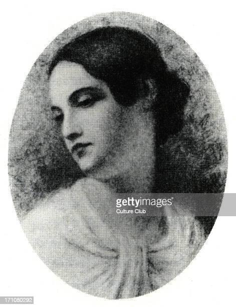 Virginia Clemm cousin and wife of Edgar Allan Poe EPAmerican author poet 19 January 1809 7 October 1849