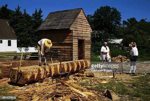 Virginia Colonial Williamsburg Carpenters