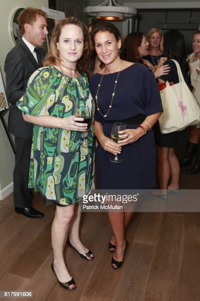 Virginia Crawford and Robyn Evan attend MERIDA Launches Three New Collections Partnership With BARCLAY BUTERA at The London Hotel on September 30...