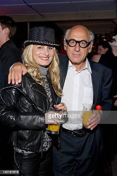 Virginia Damtsa and Michael Nyman attend the Contemporary Art Society 'Auction Gala' at Farmiloe Building on February 29 2012 in London England