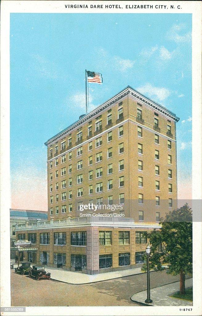 Virginia Dare Hotel Elizabeth City North Carolina 1926