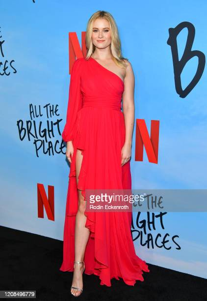 Virginia Gardner attends a Special Screening of Netflix's All The Bright Places at ArcLight Hollywood on February 24 2020 in Hollywood California