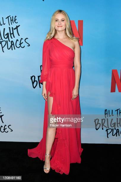 Virginia Gardner attends the Special Screening of Netflix's All The Bright Places at ArcLight Hollywood on February 24 2020 in Hollywood California