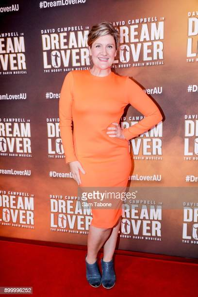 Virginia Gay attends opening night of Dream Lover The Bobby Darin Musical at Melbourne Arts Centre on December 31 2017 in Melbourne Australia