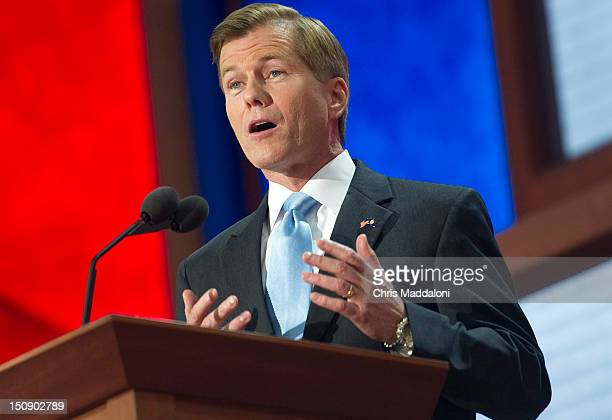 Virginia Gov Bob McDonnell speaks at the 2012 Republican National Convention at the Tampa Bay Times Forum