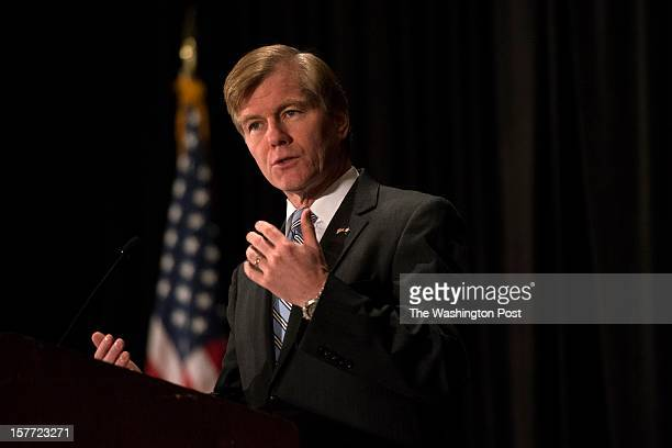 Virginia Gov Bob McDonnell speaks at the Opportunities in Motion Commonwealth of Virginia Governor's Transportation Conference in Vienna VA on Dec 5