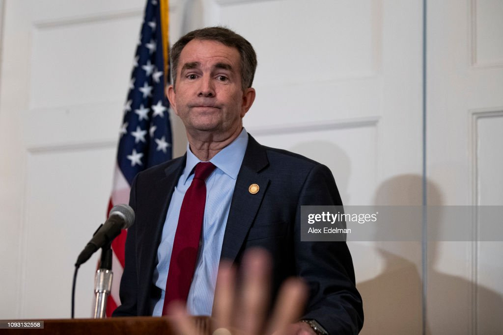 VA Governor Northam Holds Press Conference To Address Racist Yearbook Photo : News Photo