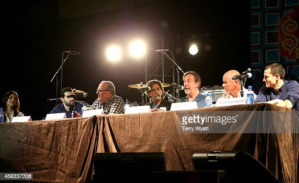 Virginia Hunt Davis of G Major Management Jeffrey Hasson of Paradigm Adam Kornfeld of Artist Group International Steve Lassiter of APA Paul Lohr of...