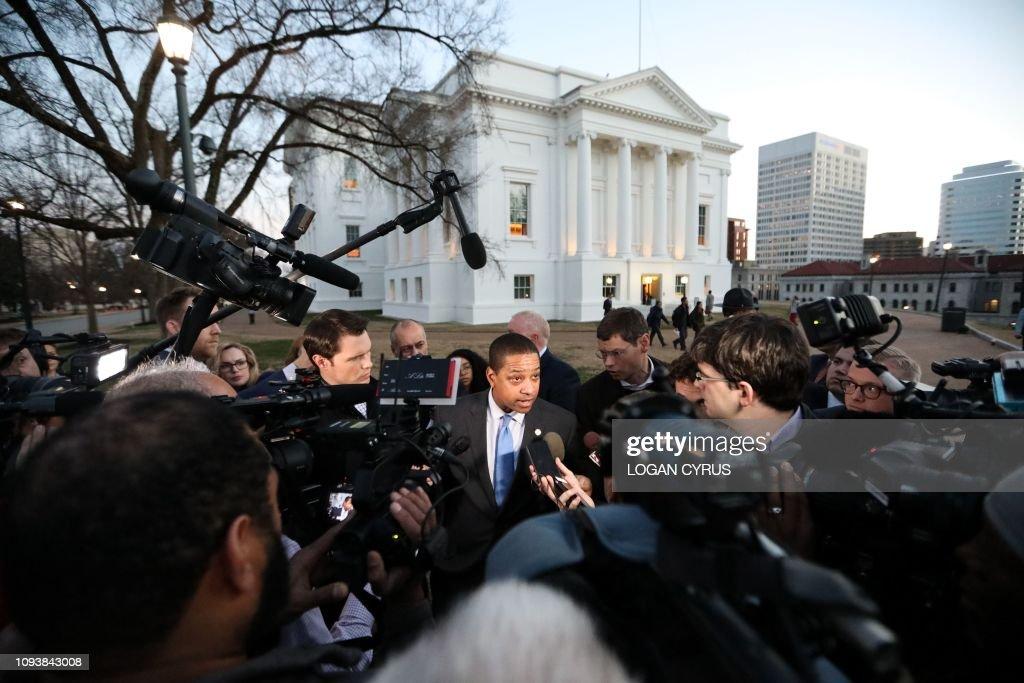 US-POLITICS-RACISM-NORTHAM : News Photo