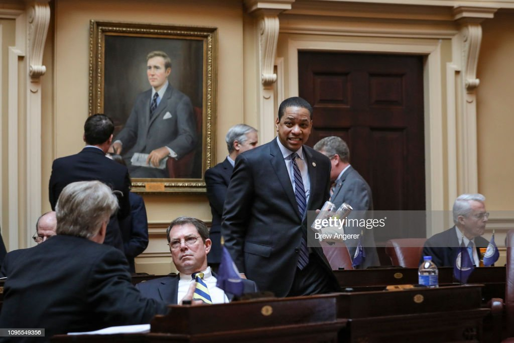 Democratic Leadership Of Virginia Surrounded In Controvesy After Racists Photos And Sexual Assault Allegations Surface : News Photo