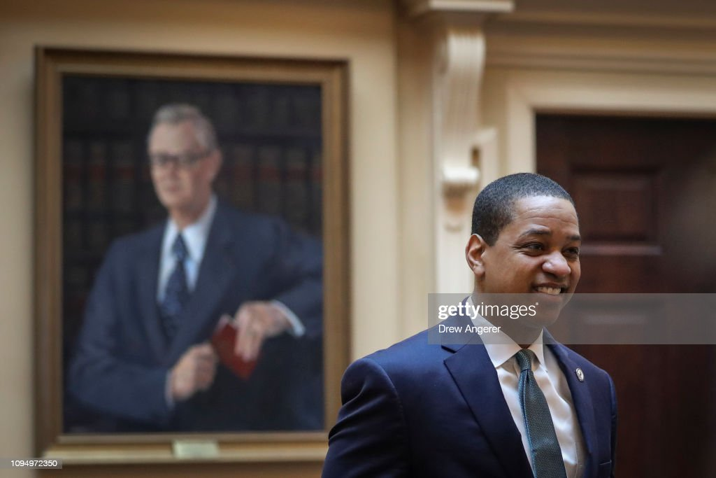 Democratic Leadership Of Virginia Surrounded In Controversy After Racists Photos And Sexual Assault Allegations Surface : News Photo